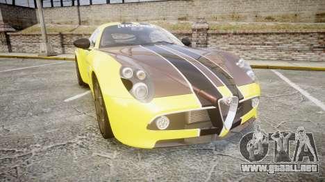 Alfa Romeo 8C Competizione para GTA 4