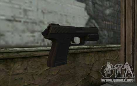 Pistol from Deadpool para GTA San Andreas segunda pantalla