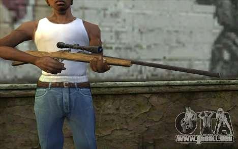 M40 from Battlefield: Vietnam para GTA San Andreas tercera pantalla