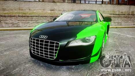 Audi R8 GT Coupe 2011 Yoshino para GTA 4