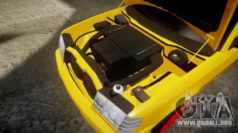 Mercedes-Benz W124 Brabus para GTA 4 vista lateral