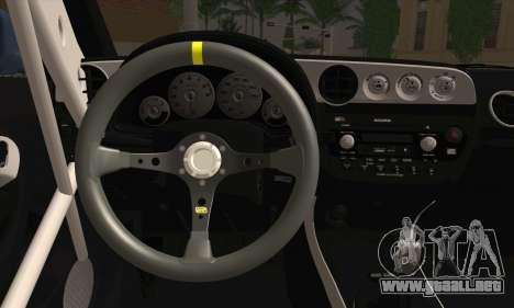 Honda Integra DC5 Stance para GTA San Andreas vista posterior izquierda