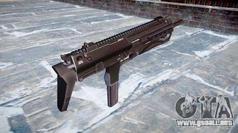 Subametralladora HK MP7 para GTA 4 segundos de pantalla
