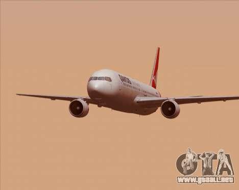 Boeing 767-300ER Qantas (New Colors) para GTA San Andreas interior