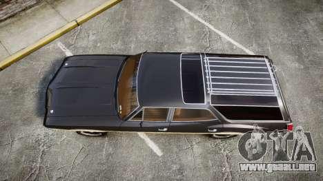 Oldsmobile Vista Cruiser 1972 Rims1 Tree1 para GTA 4 visión correcta