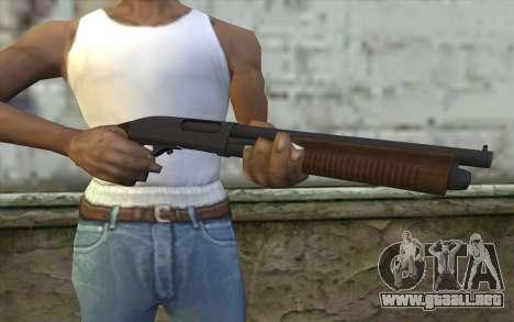 Remington 870 v2 para GTA San Andreas tercera pantalla