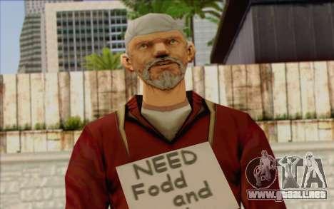 Miembro del pelotón de IA Piel de 1 para GTA San Andreas tercera pantalla