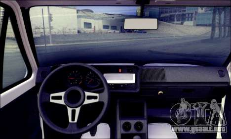 Volkswagen Golf Mk1 para GTA San Andreas vista posterior izquierda