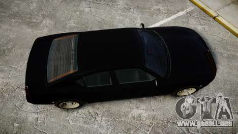 GTA V Bravado FIB Buffalo [ELS] para GTA 4 visión correcta