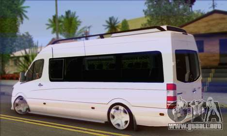 Mercedes-Benz Sprinter Servis para GTA San Andreas left