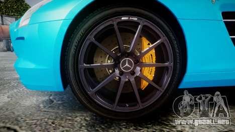 Mercedes-Benz SLS AMG v3.0 [EPM] Kotori Minami para GTA 4 vista hacia atrás