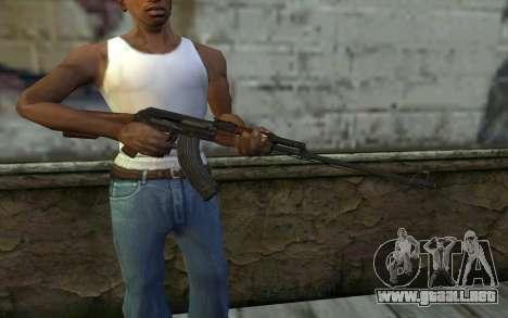 RPK 74 from Battlefield 4 para GTA San Andreas tercera pantalla