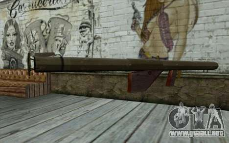 Bazooka M1 desde el Día de la Derrota para GTA San Andreas