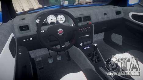 Subaru Impreza WRC 1998 SA Competio para GTA 4 vista hacia atrás
