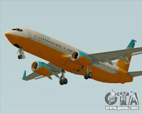 Boeing 737-800 Orbit Airlines para el motor de GTA San Andreas