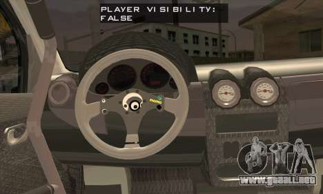Dacia Logan Trophy Edition 2005 para GTA San Andreas vista posterior izquierda