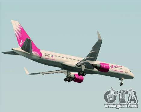 Boeing 757-230 VIM Airlines (VIM) para visión interna GTA San Andreas