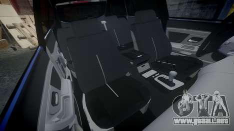 SsangYong Kyron para GTA 4 vista lateral