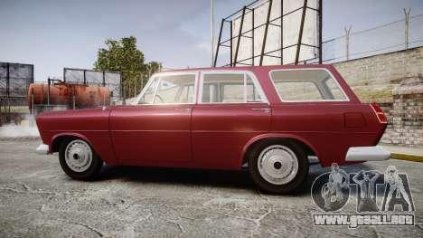 FSO Warszawa Ghia Kombi 1959 para GTA 4 left