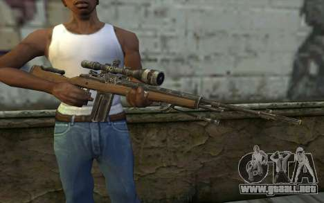 M21 from Battlefield: Vietnam para GTA San Andreas tercera pantalla