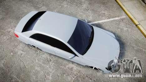 Mercedes-Benz E63 W213 AMG 2014 Vossen para GTA 4 visión correcta