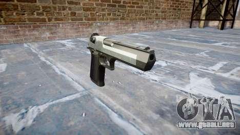 Пистолет IMI Desert Eagle Mc XIX de Dos tonos para GTA 4