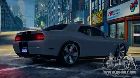 Dodge Challenger SRT8 para GTA 4 left