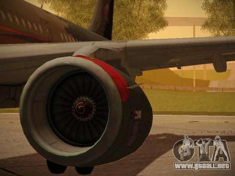 Airbus A321-232 Royal Jordanian Airlines para las ruedas de GTA San Andreas