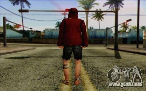 Miembro del pelotón de IA Piel 2 para GTA San Andreas segunda pantalla