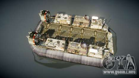 LCAC US Navy para GTA 4 visión correcta