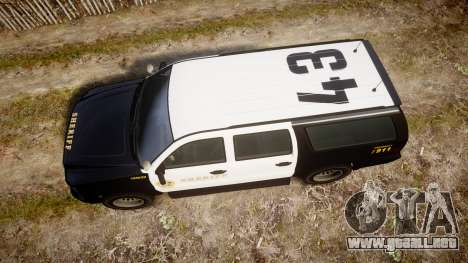 GTA V Declasse Granger LSS Black [ELS] Slicktop para GTA 4 visión correcta
