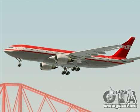 Airbus A330-200 LTU International para la visión correcta GTA San Andreas
