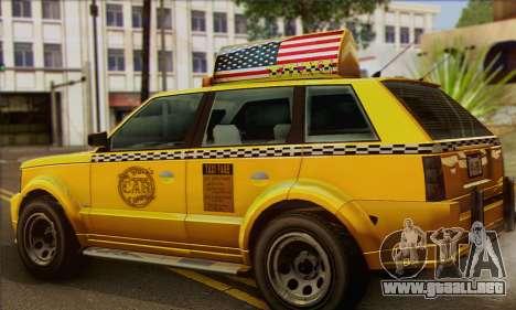 VAPID Huntley Taxi (Saints Row 4 Style) para GTA San Andreas left