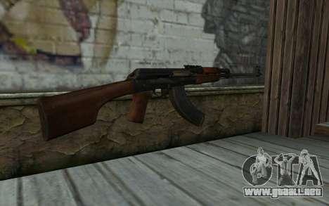 RPK 74 from Battlefield 4 para GTA San Andreas segunda pantalla
