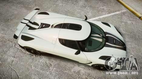 Koenigsegg Agera R 2013 [EPM] v1.5 para GTA 4 visión correcta