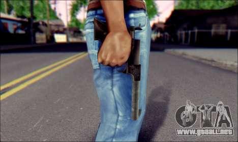 Silenced Pistol from Death to Spies 3 para GTA San Andreas tercera pantalla