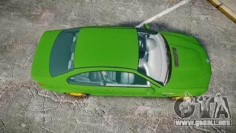 BMW M3 E46 2001 Tuned Wheel Gold para GTA 4 visión correcta