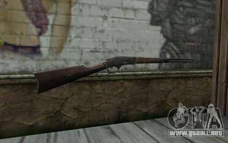 Winchester 1873 v1 para GTA San Andreas segunda pantalla