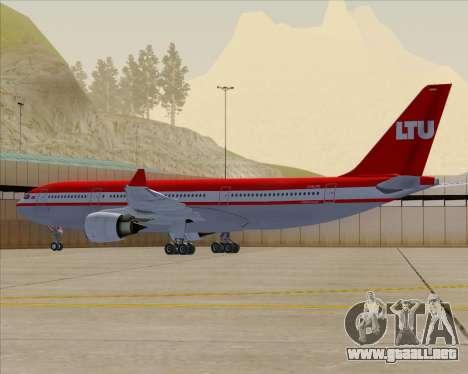 Airbus A330-200 LTU International para el motor de GTA San Andreas