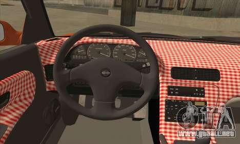 Nissan Onevia SWS para GTA San Andreas vista posterior izquierda