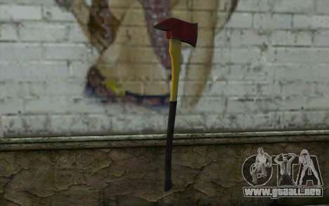 Fire axe (DayZ Standalone) v1 para GTA San Andreas segunda pantalla