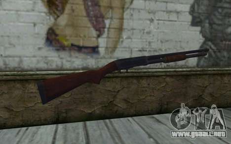 Ithaca Mod. 37 para GTA San Andreas segunda pantalla