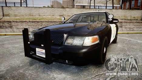 Ford Crown Victoria CHP CVPI Slicktop [ELS] para GTA 4