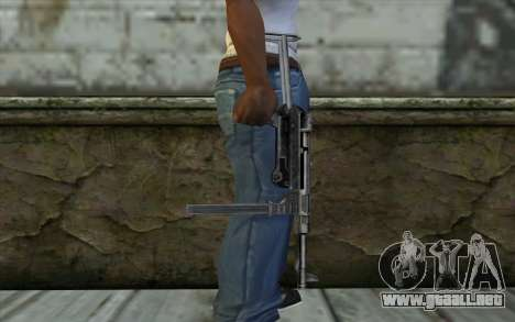 MP-40 from Day of Defeat para GTA San Andreas tercera pantalla