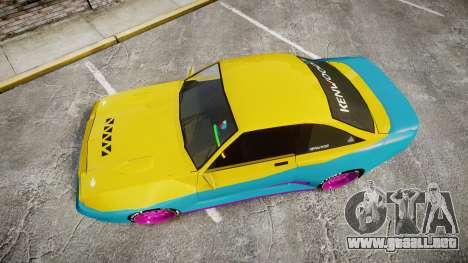Opel Manta B GTE para GTA 4 visión correcta