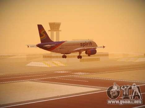 Airbus A319-132 Spirit Airlines para el motor de GTA San Andreas