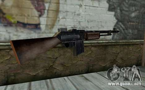 BAR-1918 from Day of Defeat para GTA San Andreas segunda pantalla
