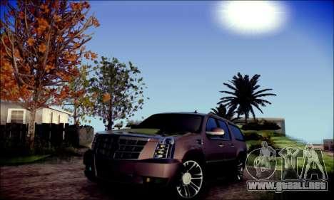 Cadillac Escalade Ninja para GTA San Andreas