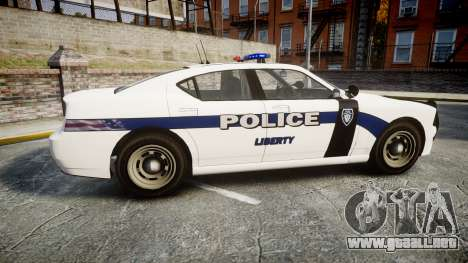 GTA V Bravado Buffalo Liberty Police [ELS] para GTA 4 left