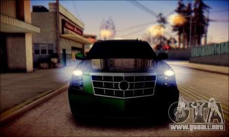 Cadillac Escalade Ninja para el motor de GTA San Andreas